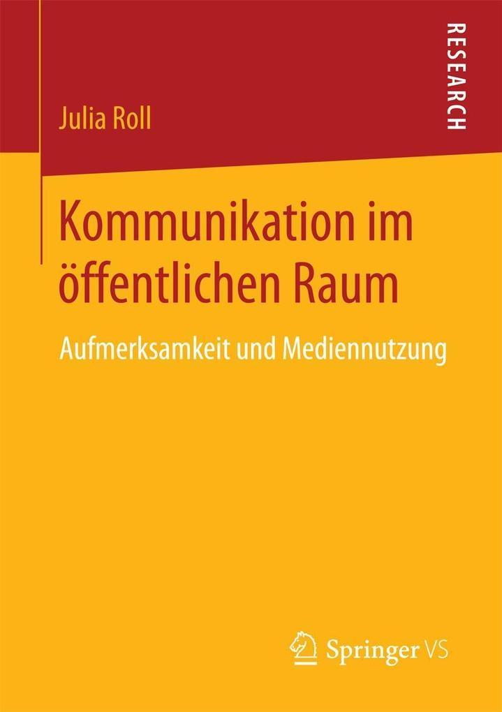 Kommunikation im öffentlichen Raum als eBook pdf