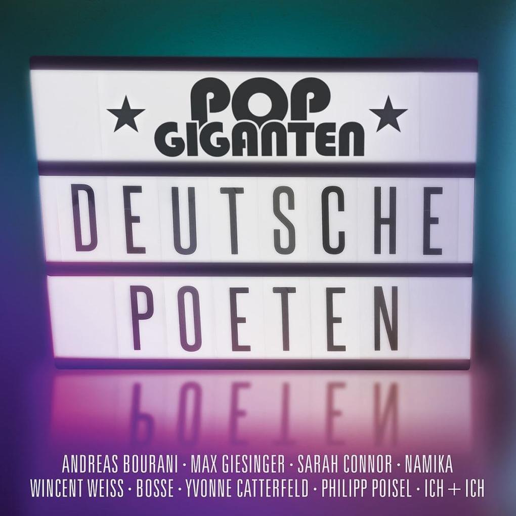 Pop Giganten-Deutsche Poeten als CD