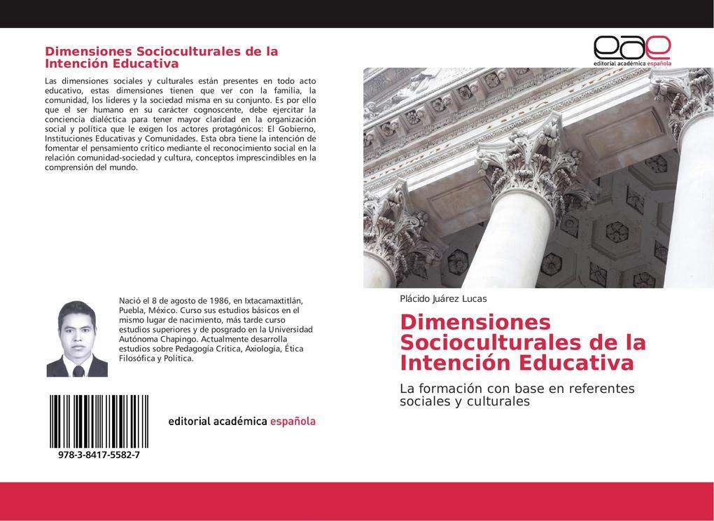 Dimensiones Socioculturales de la Intención Educativa als Buch (kartoniert)