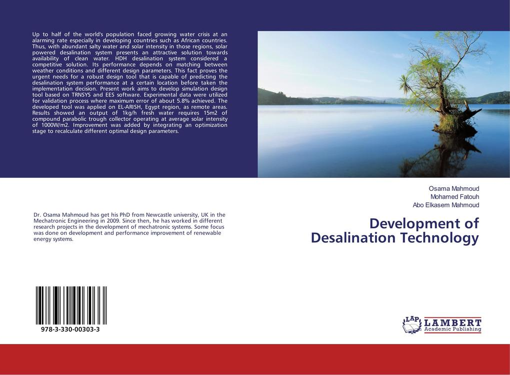 Development of Desalination Technology als Buch (kartoniert)