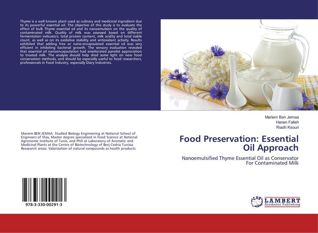 Food Preservation: Essential Oil Approach als Buch (kartoniert)