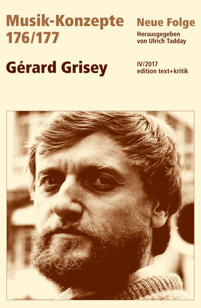 Gérard Grisey als Buch (kartoniert)