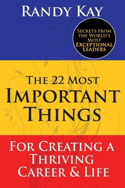 The 22 Most Important Things als Taschenbuch