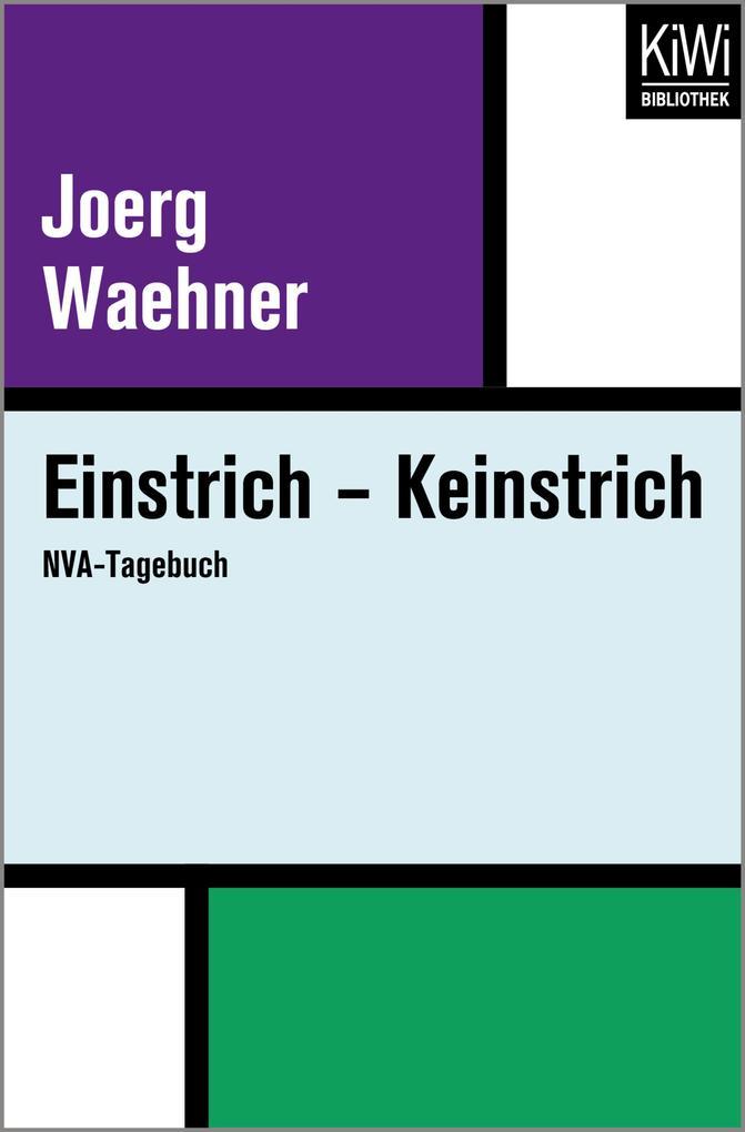 Einstrich - Keinstrich als eBook epub