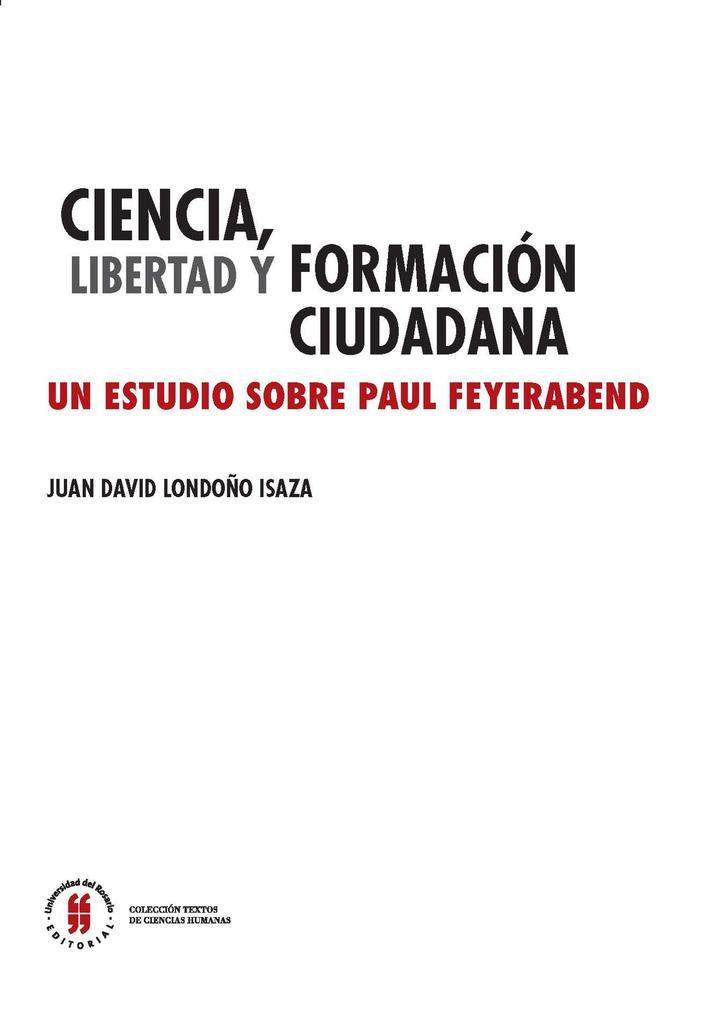 Ciencia, libertad y formación ciudadana als eBook epub