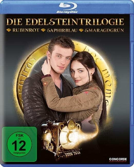 Die Edelstein-Trilogie als Blu-ray