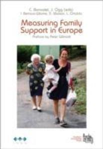 Measuring Family Support in Europe als Taschenbuch