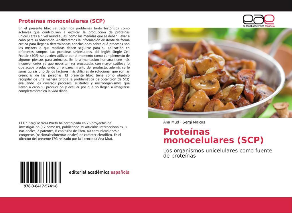 Proteínas monocelulares (SCP) als Buch (kartoniert)