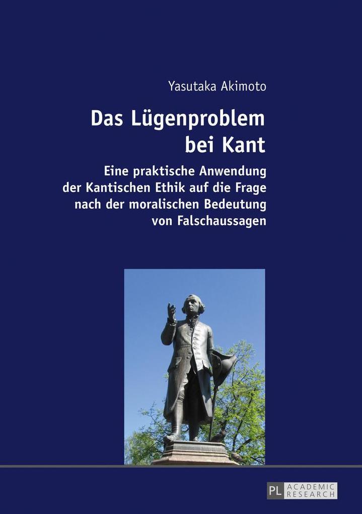 Das Lügenproblem bei Kant als Buch (kartoniert)