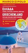 MARCO POLO Karte Griechenland, Festland, Kykladen, Korfu, Sporaden 1:300 000