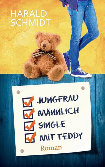 Jungfrau, männlich, Single, mit Teddy als Buch (kartoniert)