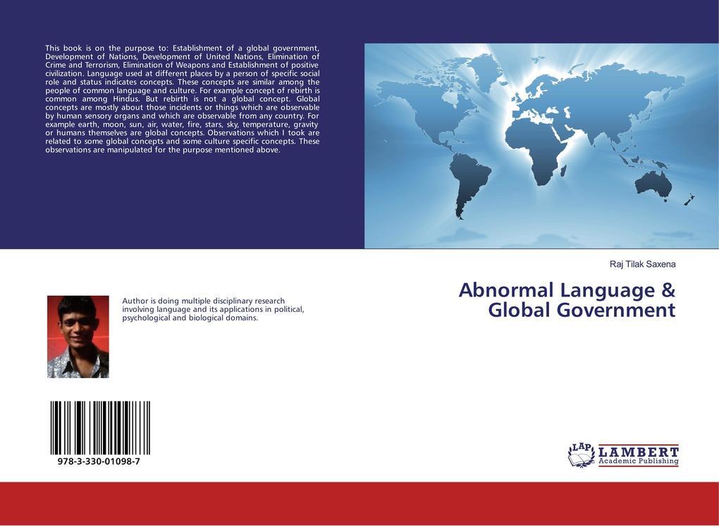 Abnormal Language & Global Government als Buch (kartoniert)