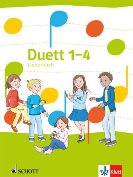 Duett. Liederbuch 1.-4. Schuljahr. Ausgabe Ost als Buch (gebunden)