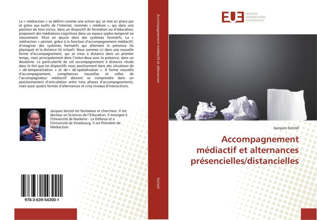 Accompagnement médiactif et alternances présencielles/distancielles als Buch (kartoniert)