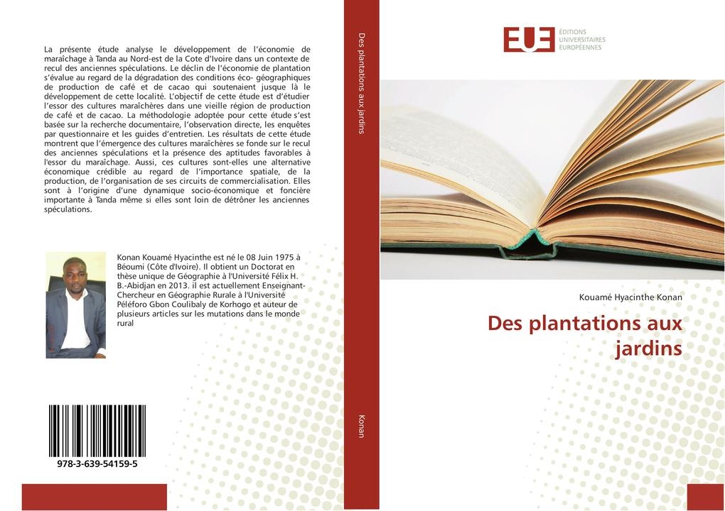 Des plantations aux jardins als Buch (kartoniert)