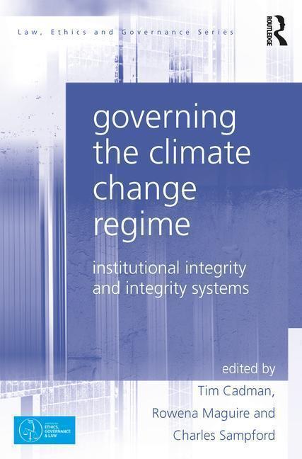 Governing the Climate Change Regime als Buch (gebunden)