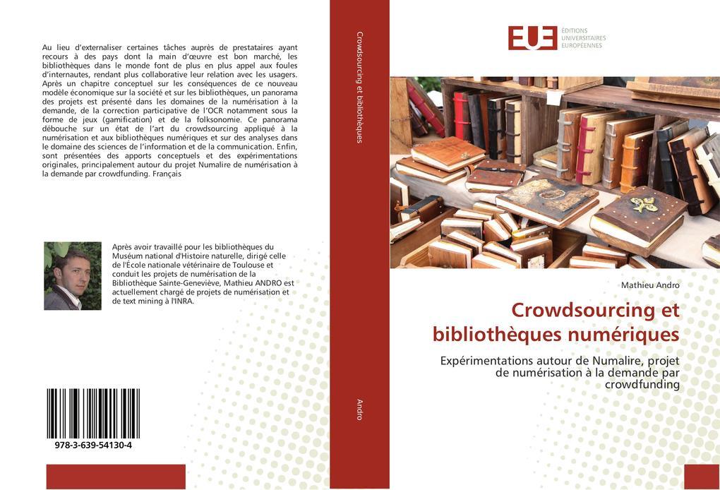 Crowdsourcing et bibliothèques numériques als Buch (kartoniert)