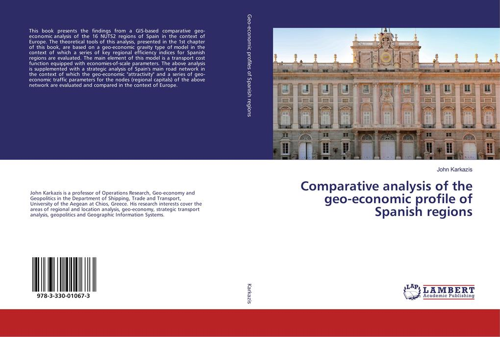 Comparative analysis of the geo-economic profile of Spanish regions als Buch (kartoniert)