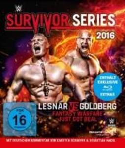 Survivor Series 2016 als Blu-ray