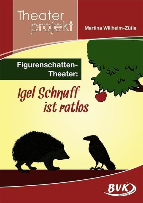 Figuren-Schattentheater: Igel Schnuff ist ratlos als Buch