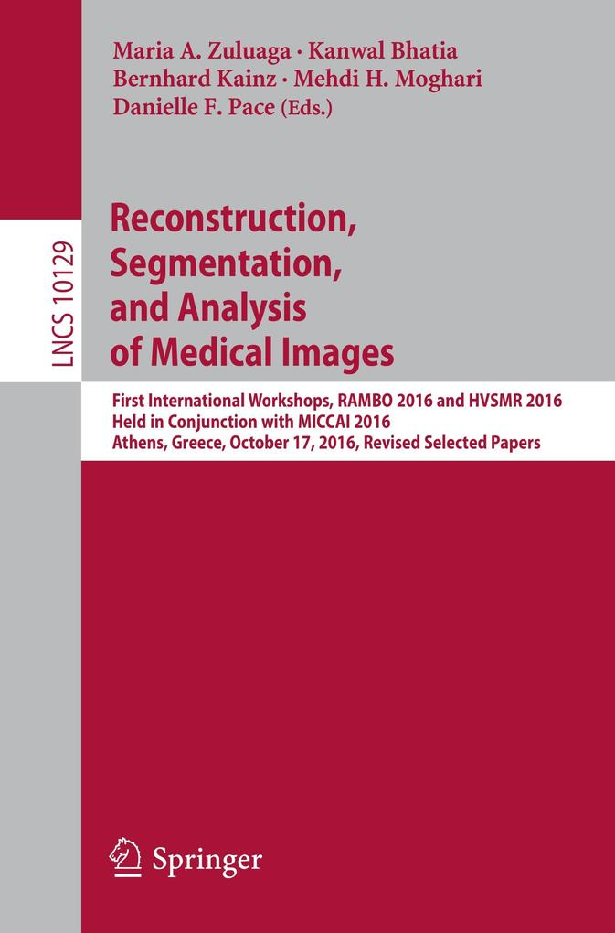 Reconstruction, Segmentation, and Analysis of Medical Images als Buch (kartoniert)