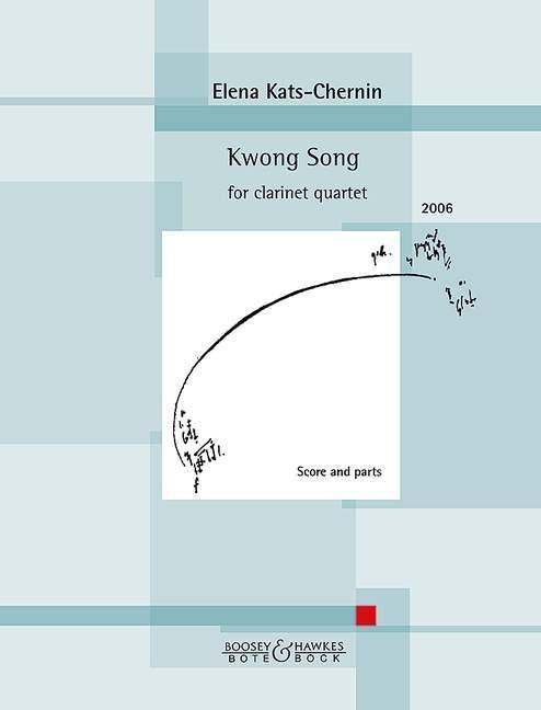 Kwong Song. Klarinettenquartett (3 Klarinetten und Bass-Klarinette) als Blätter und Karten