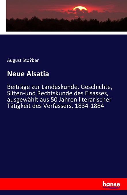 Neue Alsatia als Buch (kartoniert)