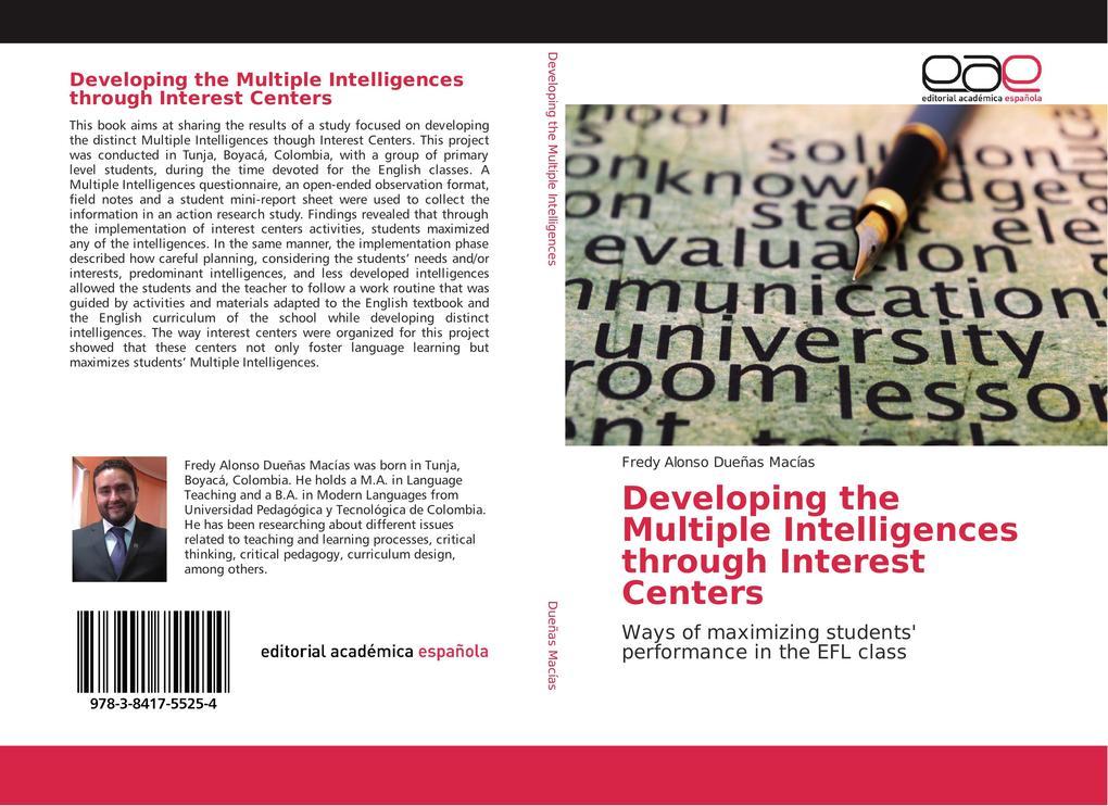 Developing the Multiple Intelligences through Interest Centers als Buch (kartoniert)