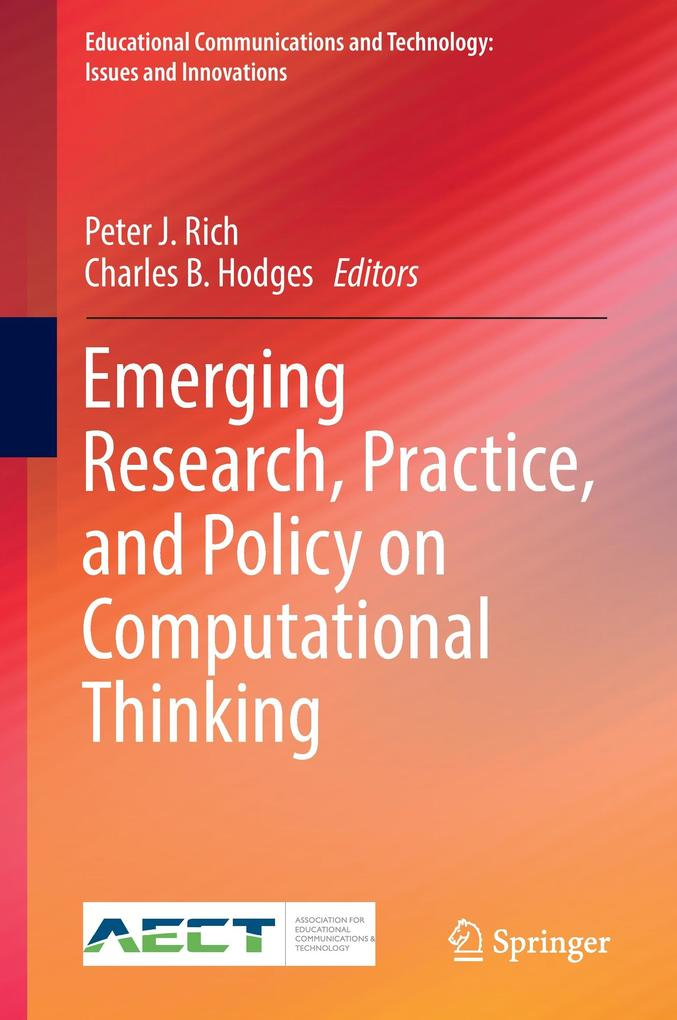 Emerging Research, Practice, and Policy on Computational Thinking als Buch (gebunden)