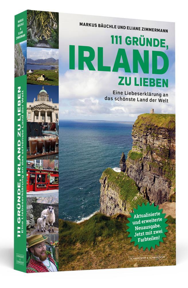 111 Gründe, Irland zu lieben als Taschenbuch