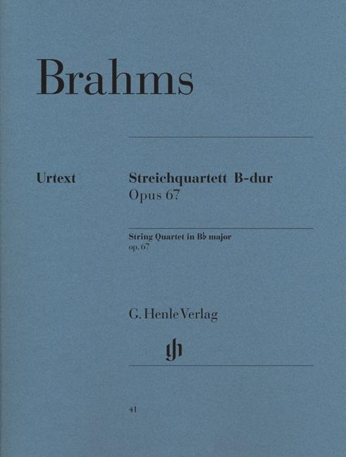 Streichquartett B-dur op. 67 als Buch (kartoniert)