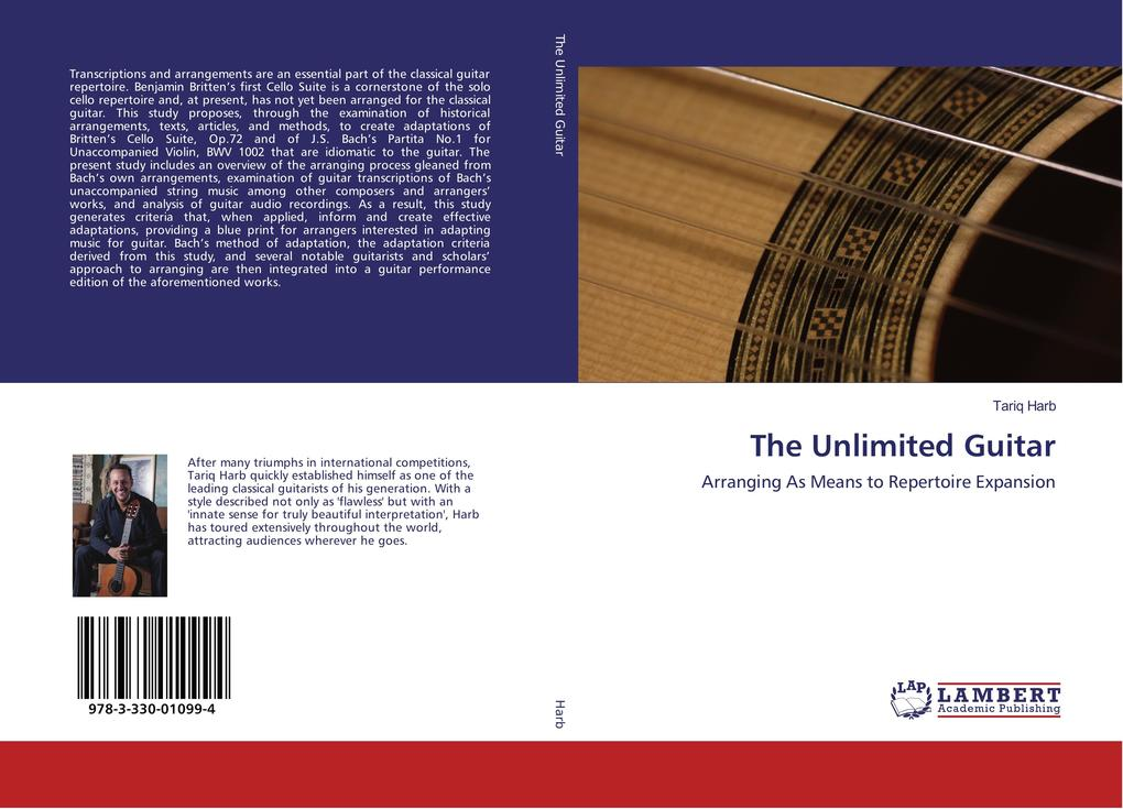 The Unlimited Guitar als Buch (kartoniert)