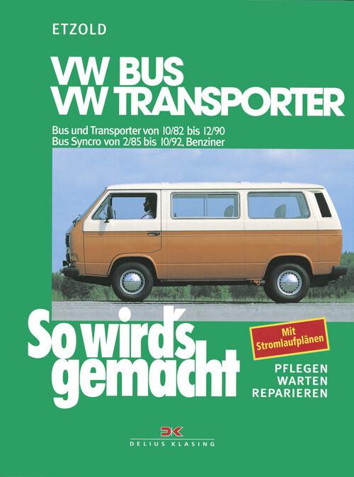 VW Bus und Transporter von 10/82 bis 12/90 als eBook pdf