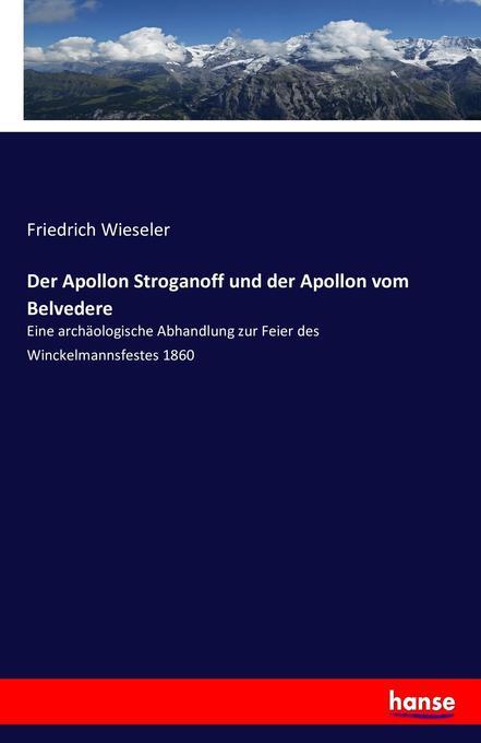 Der Apollon Stroganoff und der Apollon vom Belvedere als Buch (kartoniert)