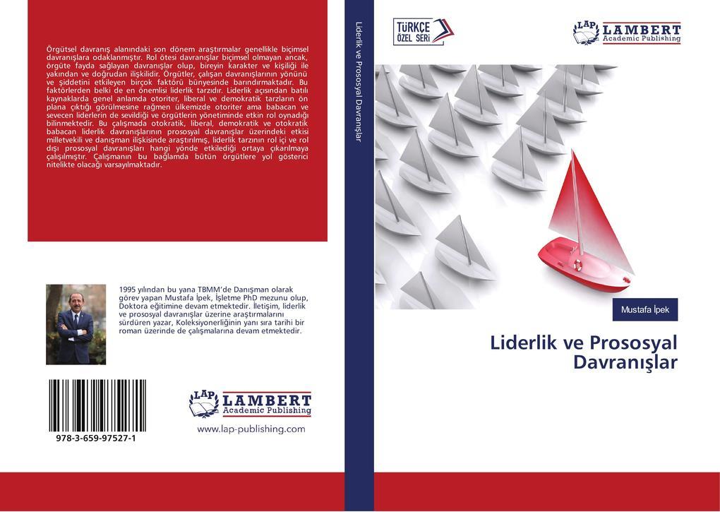 Liderlik ve Prososyal Davranislar als Buch (kartoniert)