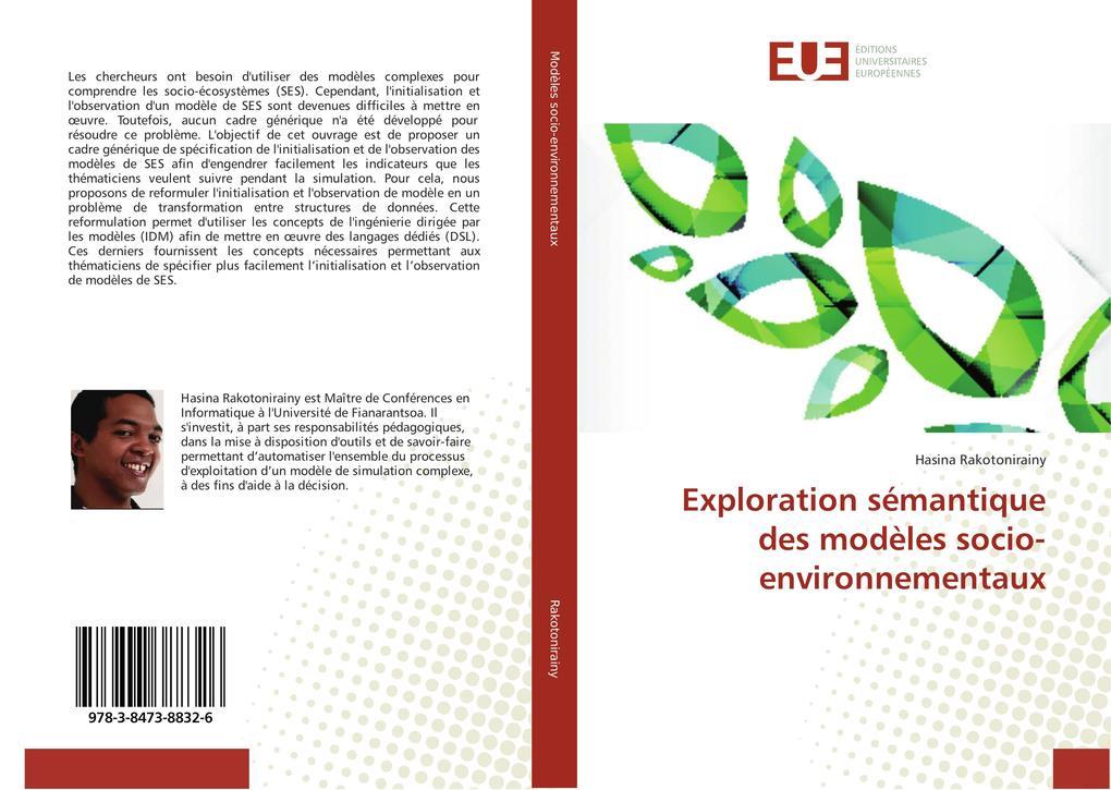 Exploration sémantique des modèles socio-environnementaux als Buch (kartoniert)