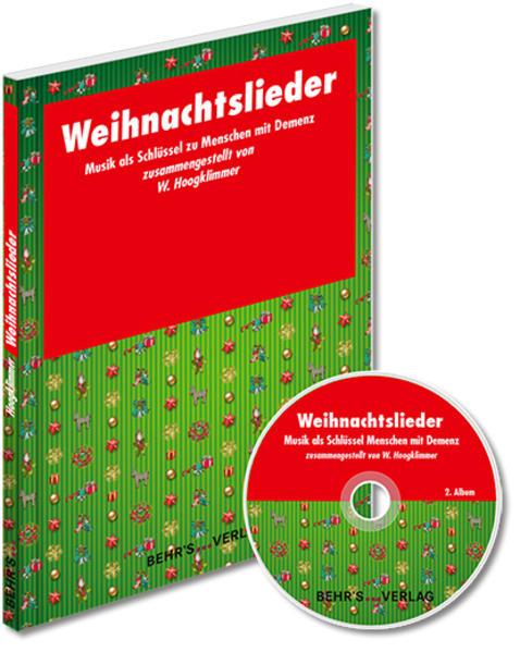 Weihnachtslieder als Buch (kartoniert)
