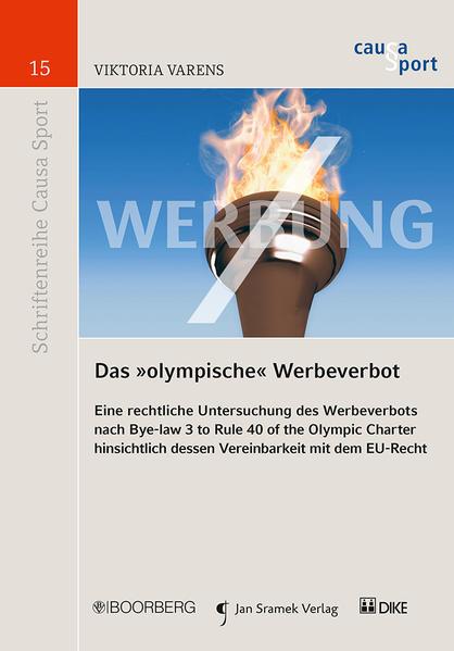 """Das """"olympische"""" Werbeverbot als Buch (kartoniert)"""