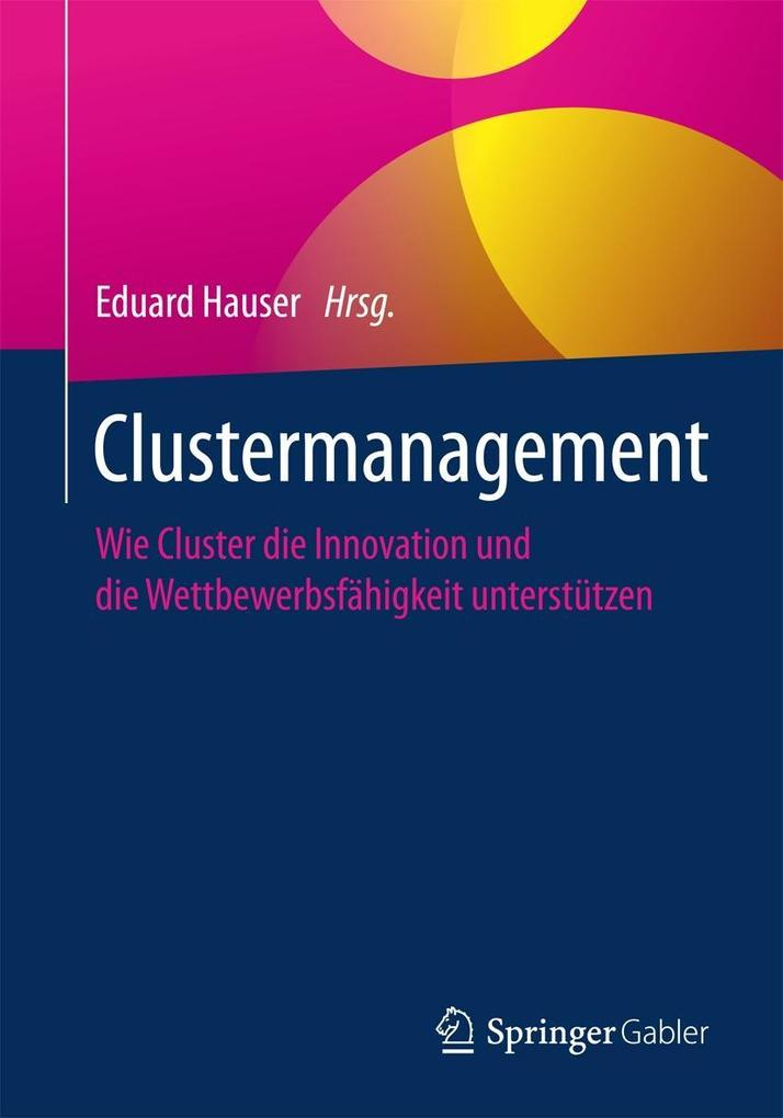 Clustermanagement als eBook pdf
