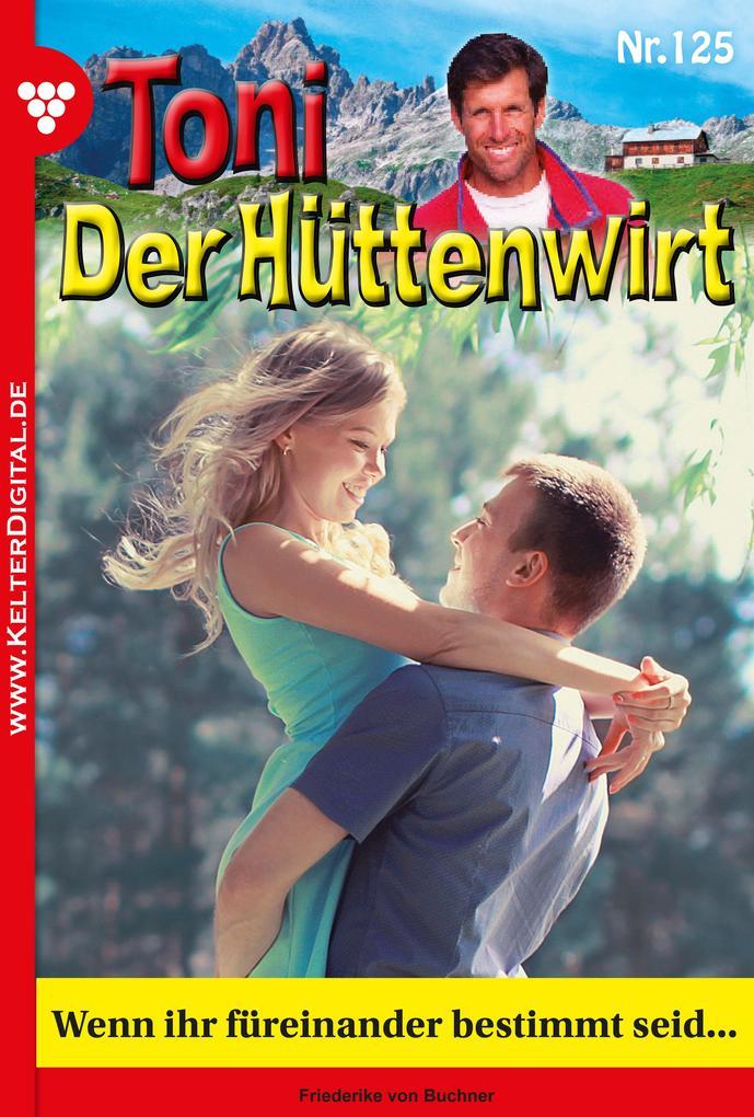 Toni der Hüttenwirt 125 - Heimatroman als eBook epub
