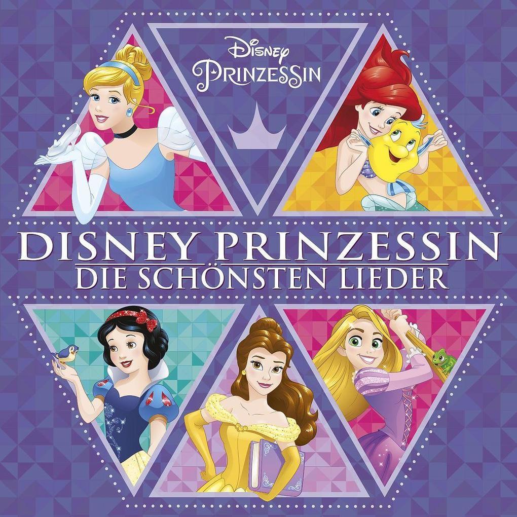 Disney Prinzessin-Die Schönsten Lieder als CD