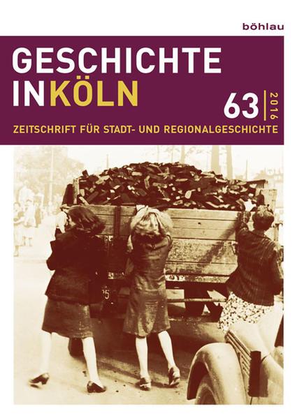Geschichte in Köln 63 (2016) als Buch (kartoniert)