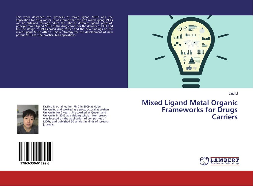 Mixed Ligand Metal Organic Frameworks for Drugs Carriers als Buch (kartoniert)