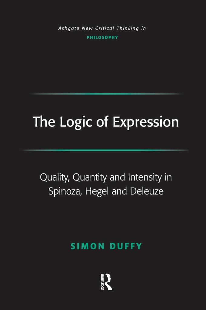 The Logic of Expression als Taschenbuch