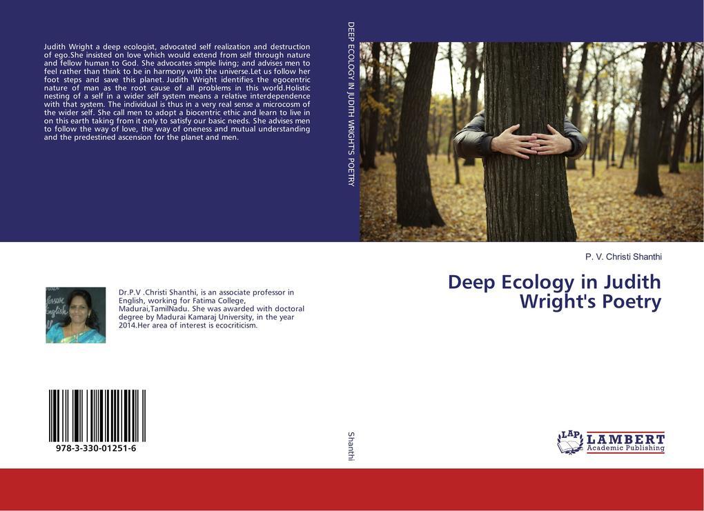 Deep Ecology in Judith Wright's Poetry als Buch (kartoniert)