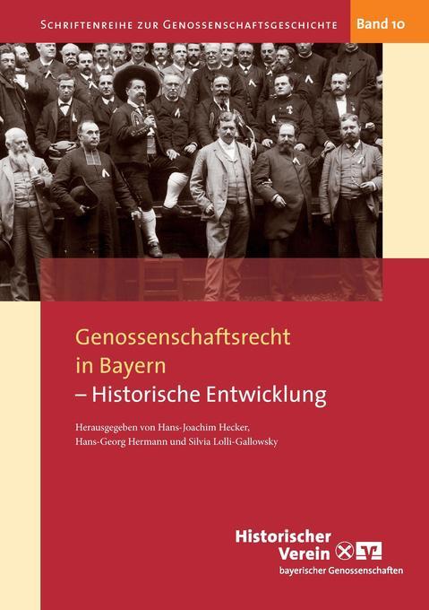 Genossenschaftsrecht in Bayern als Buch (kartoniert)