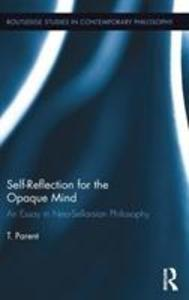 Self-Reflection for the Opaque Mind als Buch (gebunden)