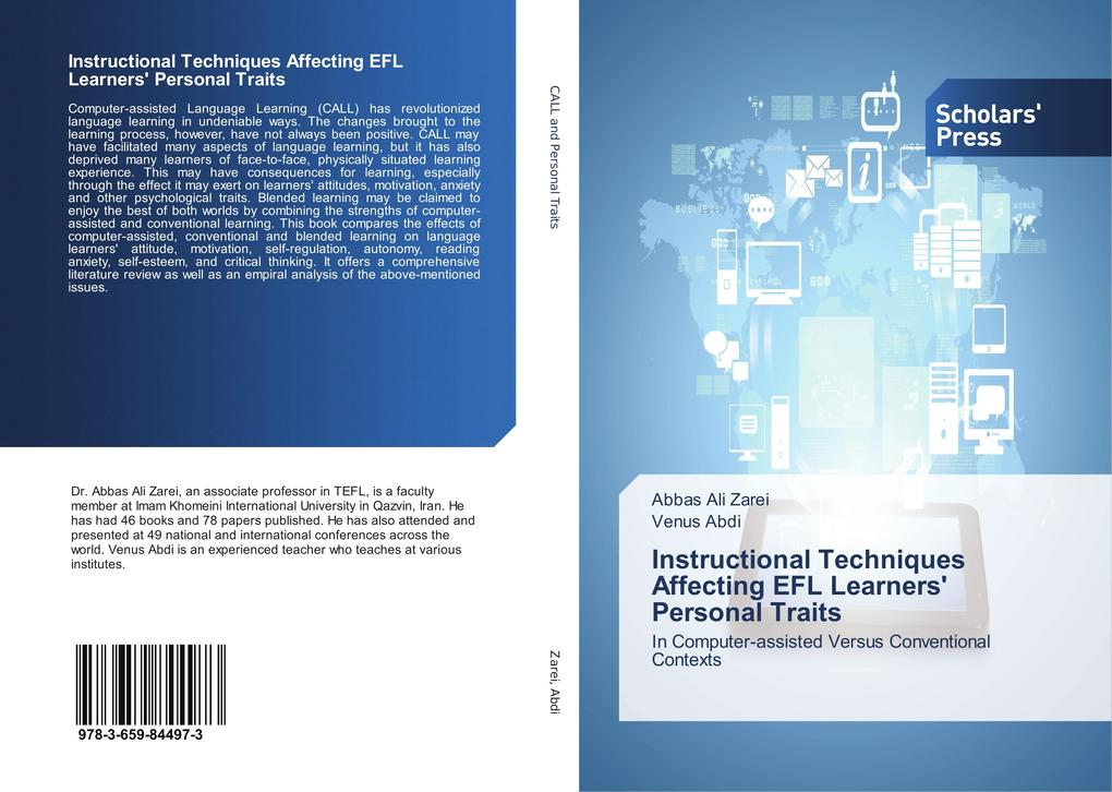 Instructional Techniques Affecting EFL Learners' Personal Traits als Buch (kartoniert)