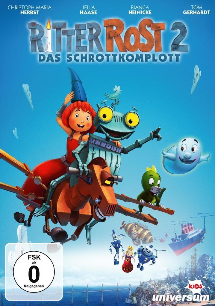 Ritter Rost 2 - Das Schrottkomplott als DVD