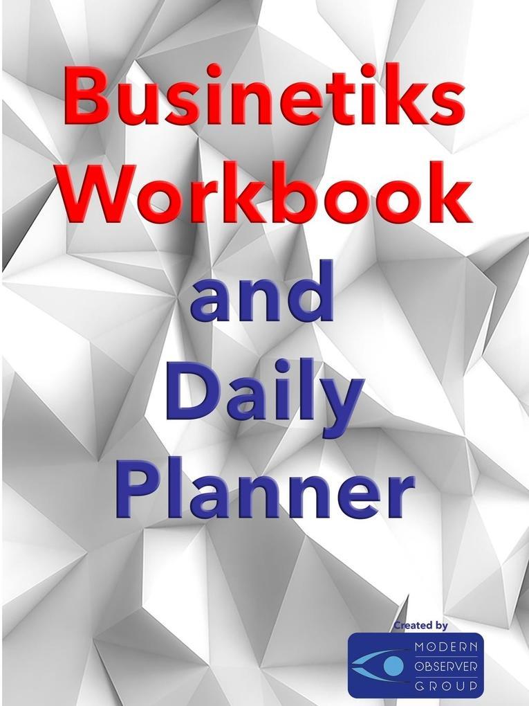 Businetiks Planner als Taschenbuch